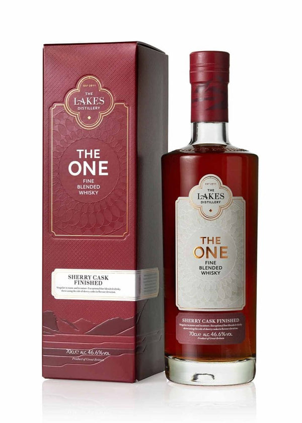 The Lakes Distillery: The One Sherry Cask Finished Whisky