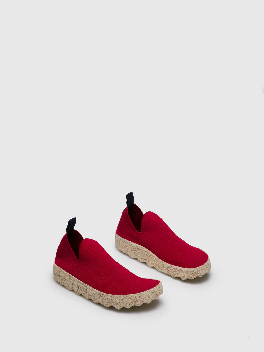 Elasticated Trainers CARE Red