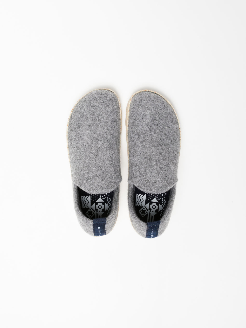 Slip-on Shoes CITY Concrete