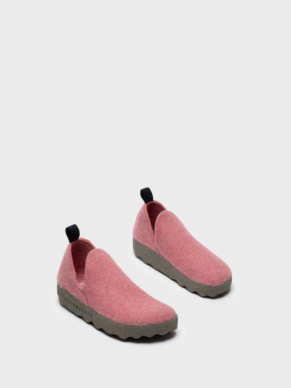 Round Toe Ankle Boots CITY Pink