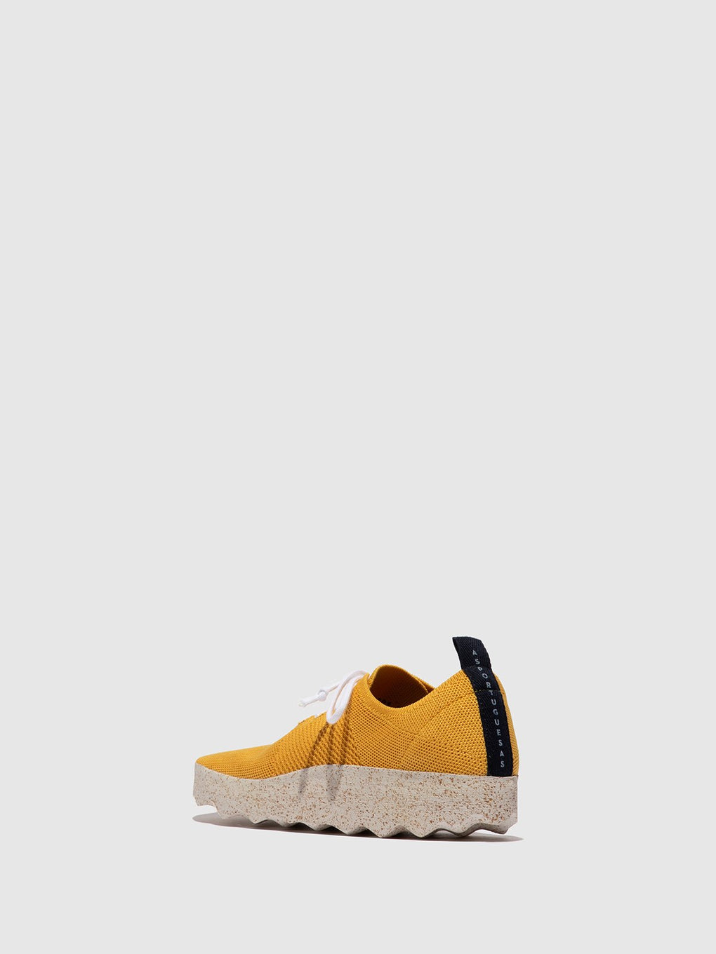 Lace-up Trainers CODE Yellow
