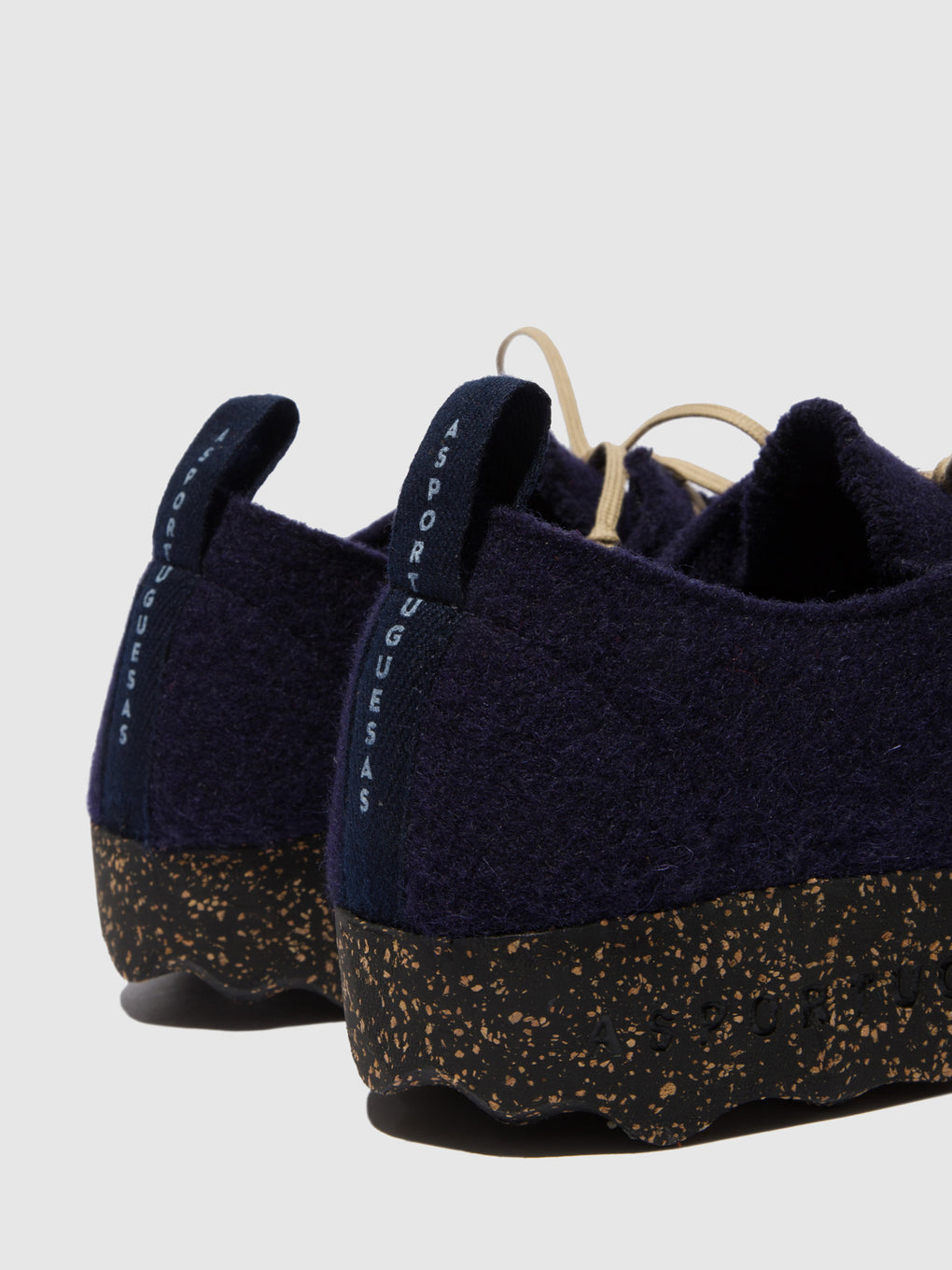 Round Toe Shoes CHAT Navy