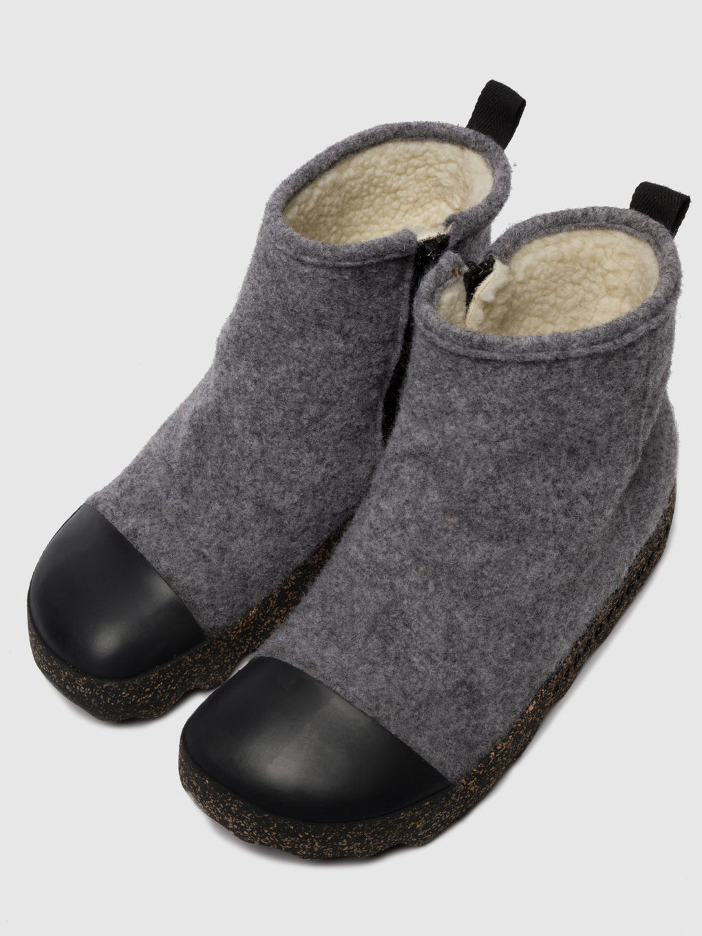 Zip Up Boots COSY Concrete