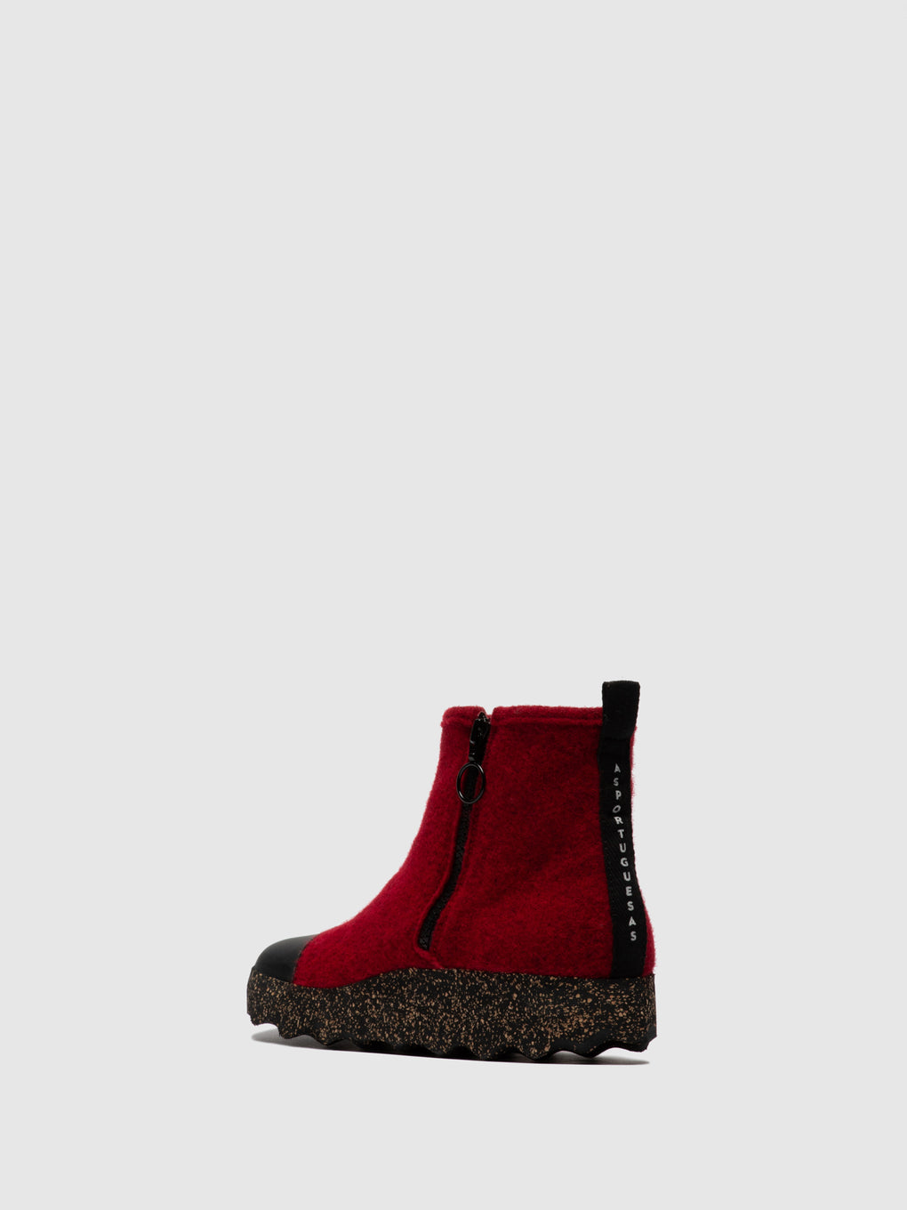 Zip Up Boots COSY Berry