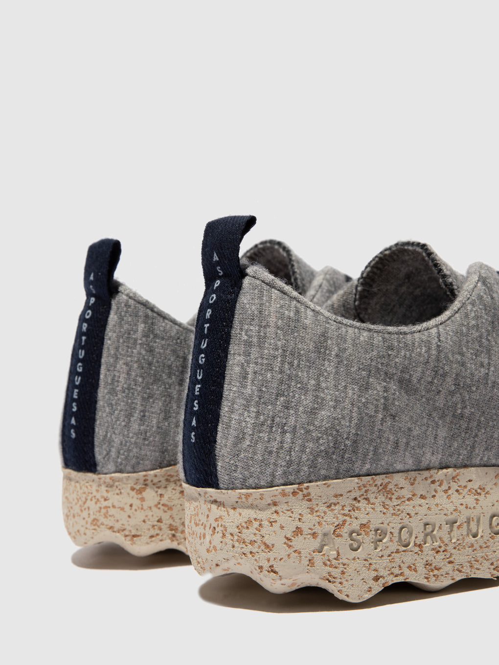 Lace-up Trainers CAMP_L Grey Merino Wool