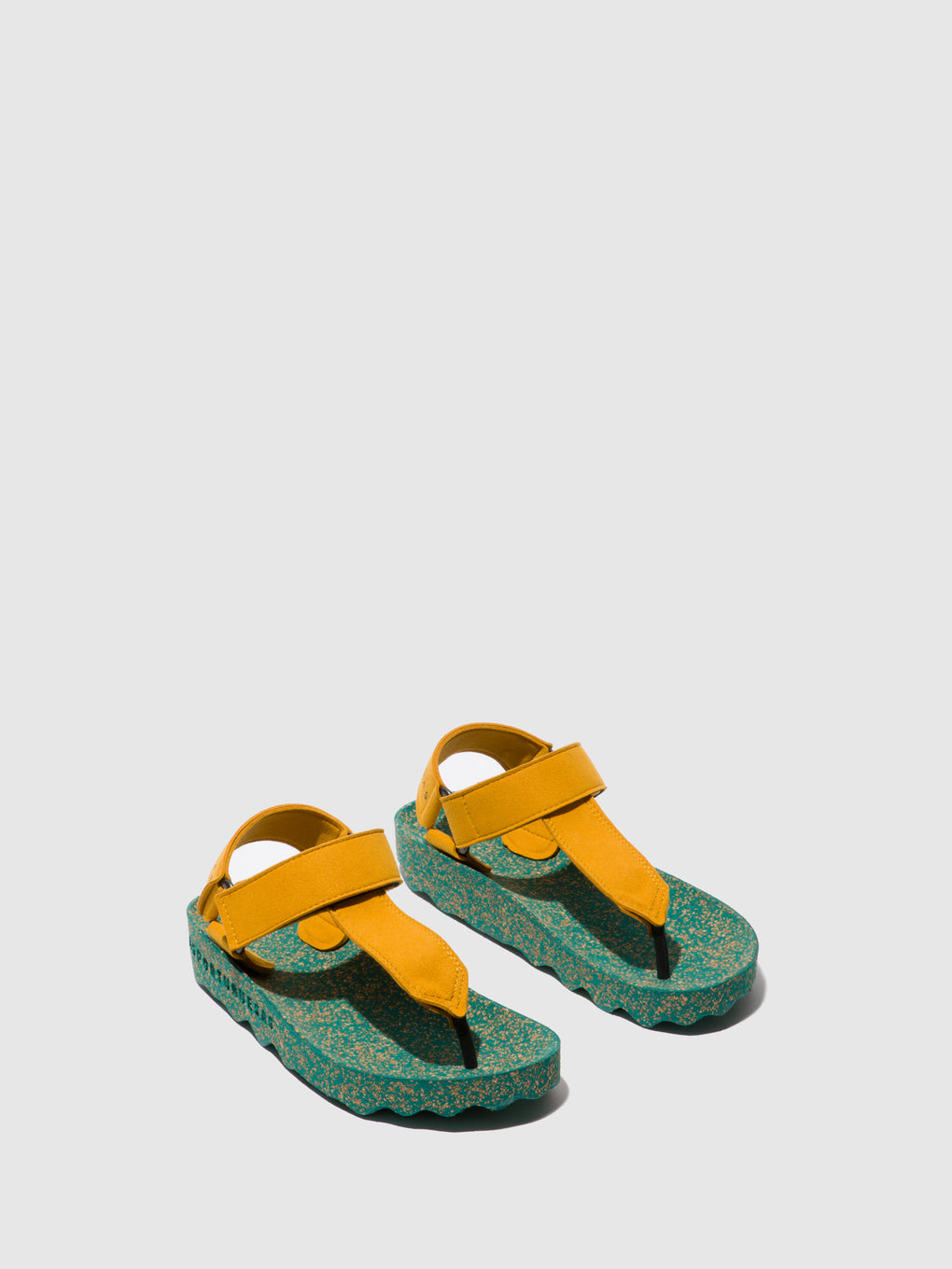 Thong Sandals FIZZ_L Yellow Suede