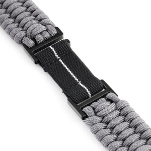 Naimakka Apple Watch Strap - Charcoal Grey (Black PVD)
