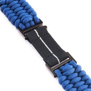 Naimakka Apple Watch Strap - Blue (Black PVD)