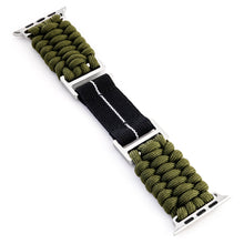 Load image into Gallery viewer, Naimakka Apple Watch Strap - Mil-Green