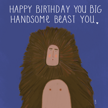 Load image into Gallery viewer, Handsome Birthday Beast