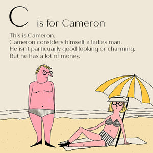 C is for Cameron - Personalised Fine Art Print