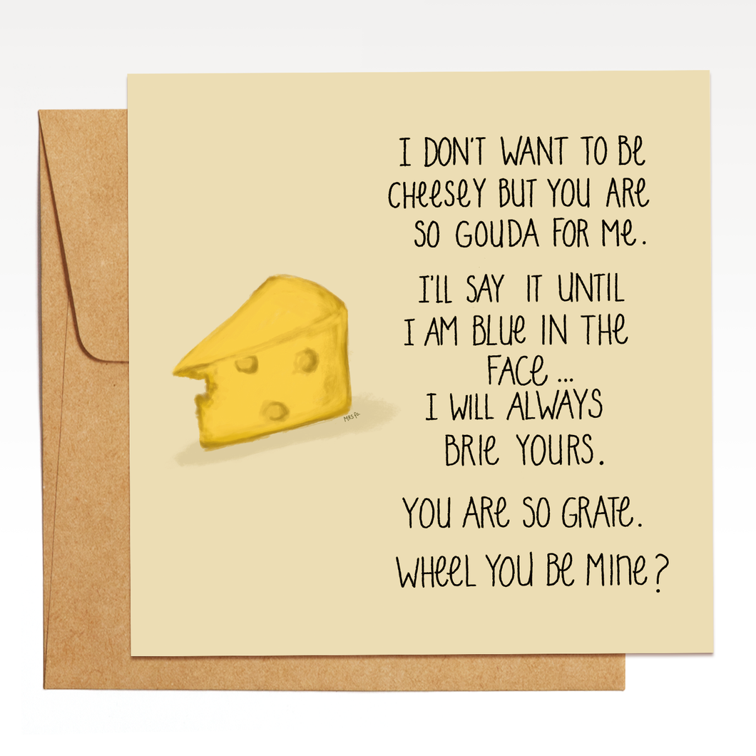 A Cheesey Card