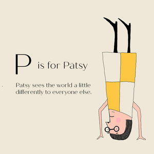 P is for Patsy - Personalised Fine Art Print