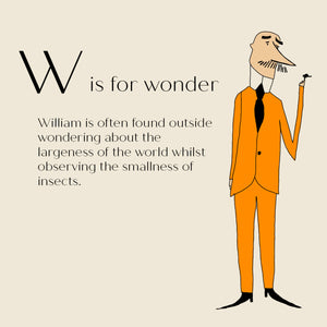 W is for Wonder - High Quality Art Print