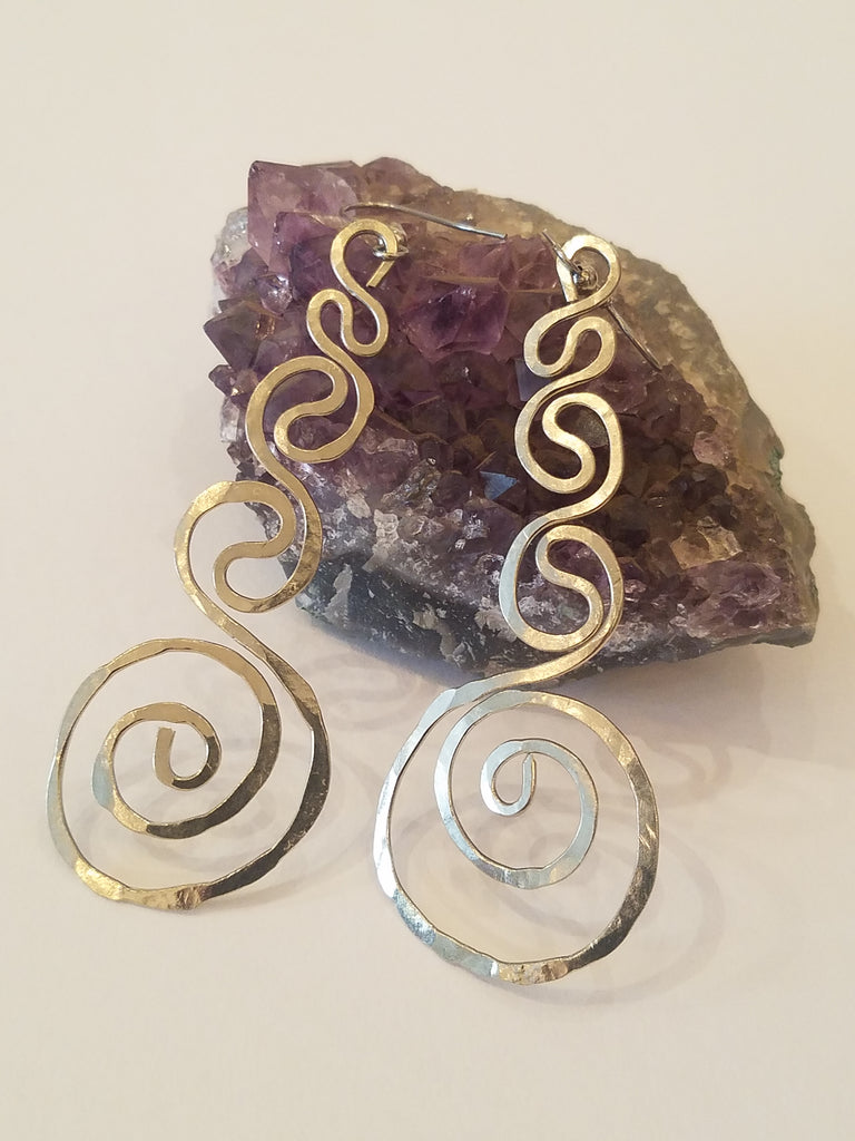 Long Spiral Waves - Silver