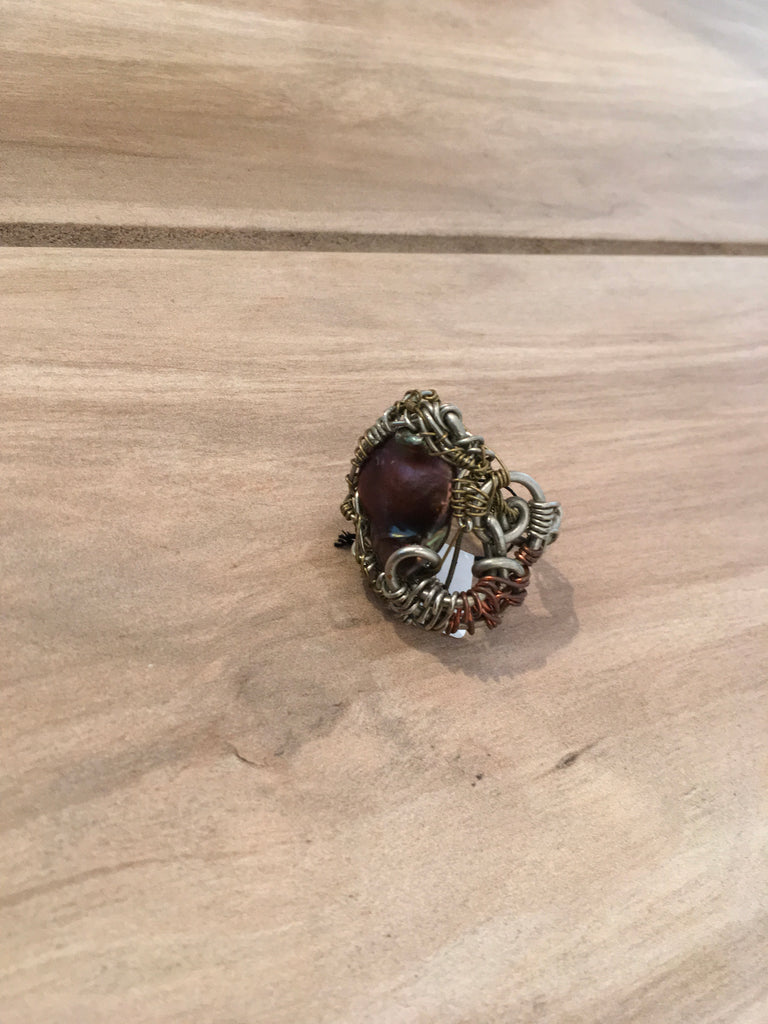 Large Wire Wrap Ring