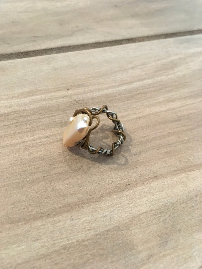 Shell Wrap Ring - Sm