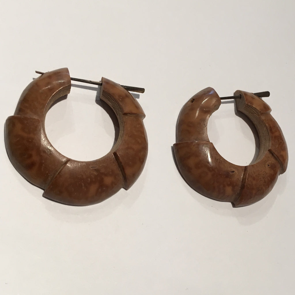 Piasava Armadillo Hoops - Wood
