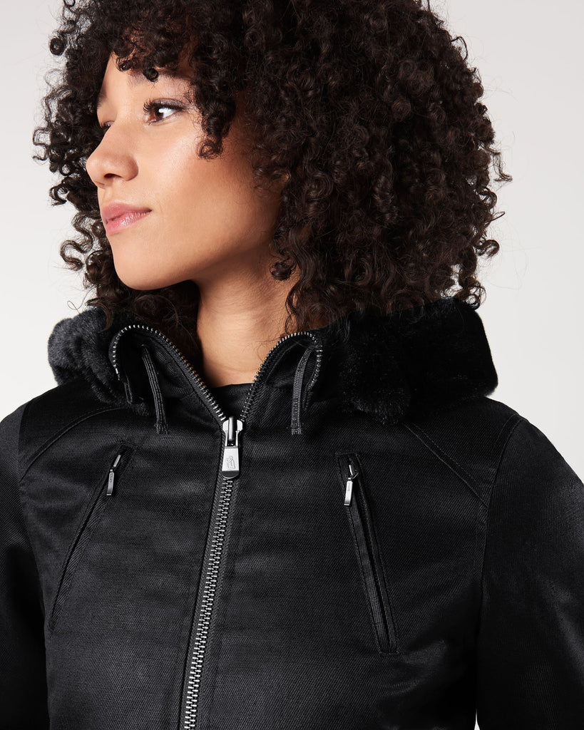 Ladies HoodLamb Parka