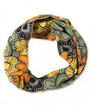 Reversible Organic Cotton Infinity Scarf