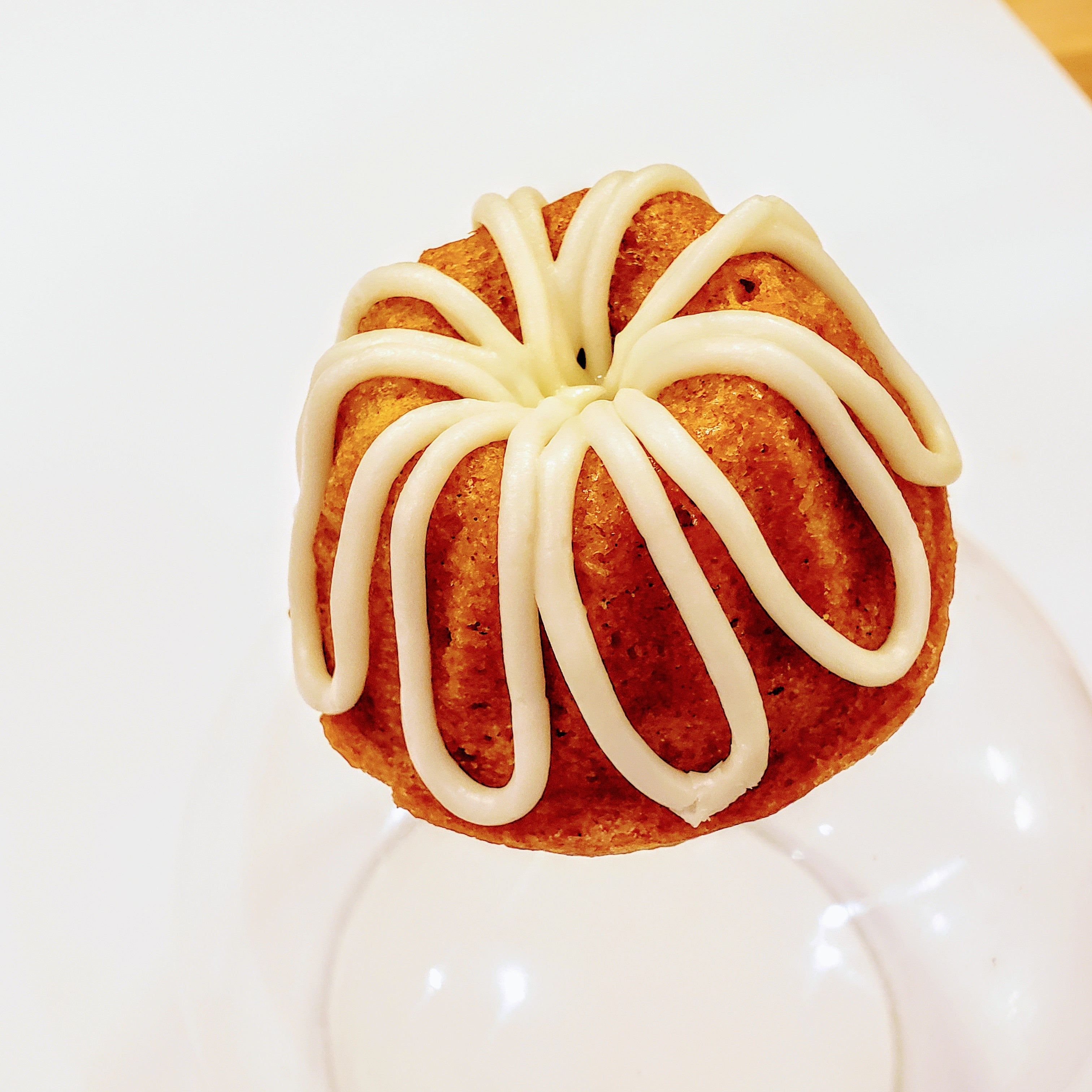 Punkin' Spice Baby Bundt with Cream Cheese Buttercream Drizzle