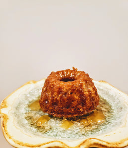 Knobbly Apple Baby Bundt with Brown Butter Glaze