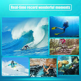 Full HD 1080P WIFI 2.0 Screen Ultra 4K Underwater Action Camcorder 30M SJ9000