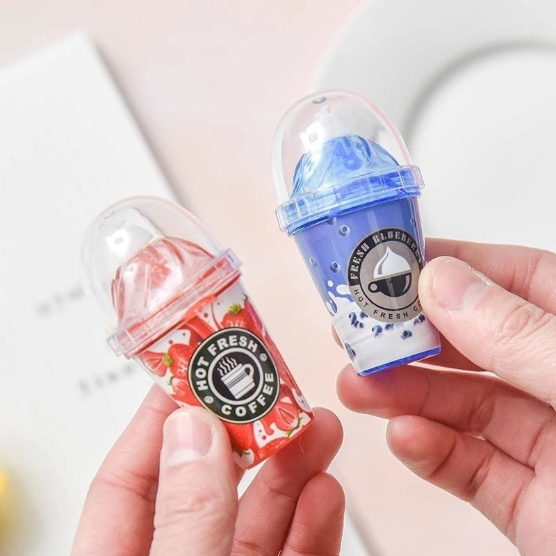 1 PC Cute Stationery Creative Correction tape with Milk Tea Cup Altered with Ice Cream Correction with Kawaii School Supplies