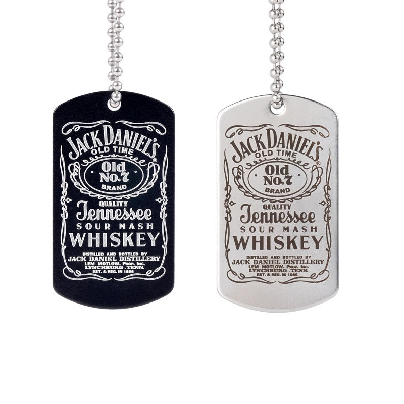 Creative Jack Daniels Whiskey Necklace Jewelry Pendant Perfect Whiskey Lovers Gifts Souvenir 1Pcs No.1 Perfect Pendant