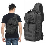 Outdoor Waterproof Oxford Cloth One-shoulder Cross-body Bag Rucksack Hiking Camping Hunting Tactical Trekking Travelling Bags Camera Bags