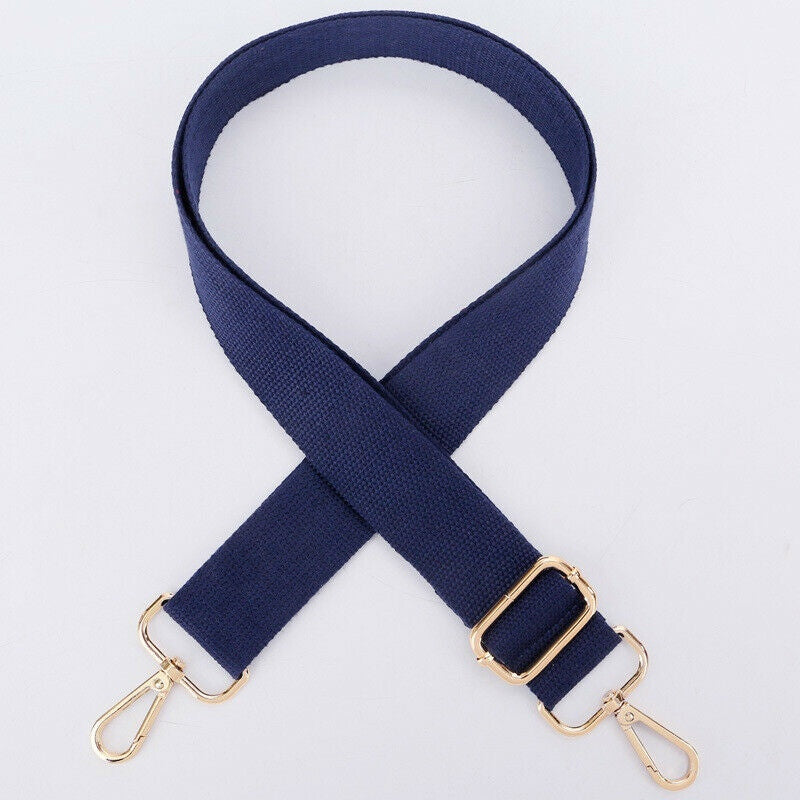 Women Men Unisex Canvas Belt Adjustable Handle Shoulder Bag Camera Strap Replacement Handbag Accessories 15colors
