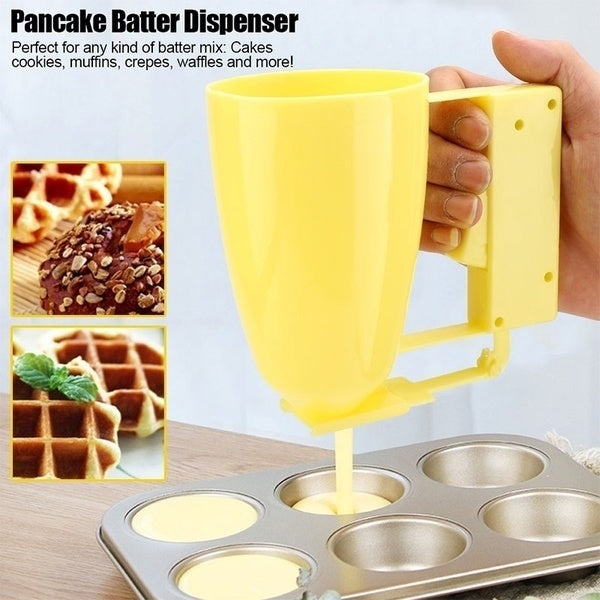 1PC Hand-held  Adjustable Kitchen Funnel Pastry Dispenser Cake  Baking Tool