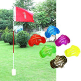 4pcs Golf Ball Line Marker Template Alignment Liner Marks Tool Putting Aids Shell