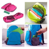 Stranger Things Backpack Portable Traveling Hiking Backpack Outdoor Nylon Foldable Bags