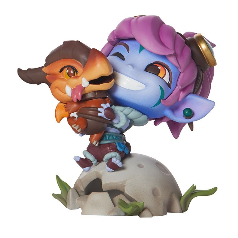 New Arrival League of Legends The Megling Gunner Tristana Action Figure Toy (13cm/5inch)