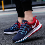 3 Colors Men/Women Air Cushion Breathable Mesh Sports Shoes Outdoor Casual Running Shoes Fashion Sneakers