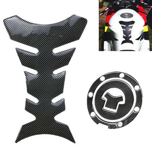 2Pcs Motorcycle Moto Gas Fuel Tank Pad Cover Sticker Protector Decal For Honda CB250/400 CBR400