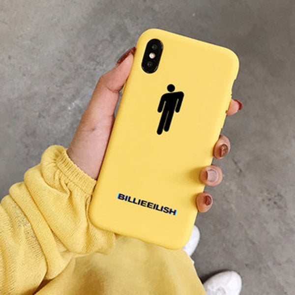 Billie Eilish Soft Silicone Case for Apple iPhone X 6 6s 7 8 Plus 5 5s SE Cover for iPhone XS Max XR for Huawei Mate 10 20 P10 P20 Lite Pro P Smart Cases P30 Redmi Note7 Samsung S10 S9 J3 J4 J6 Samsung Note10 Note9