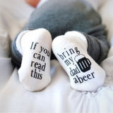 New Baby Socks Boys Girls Gifts Chic Cute Letter Print Shoes Baby Boy Girl Warm Cotton Socks Newborn Infant Toddler Kids Soft Socks