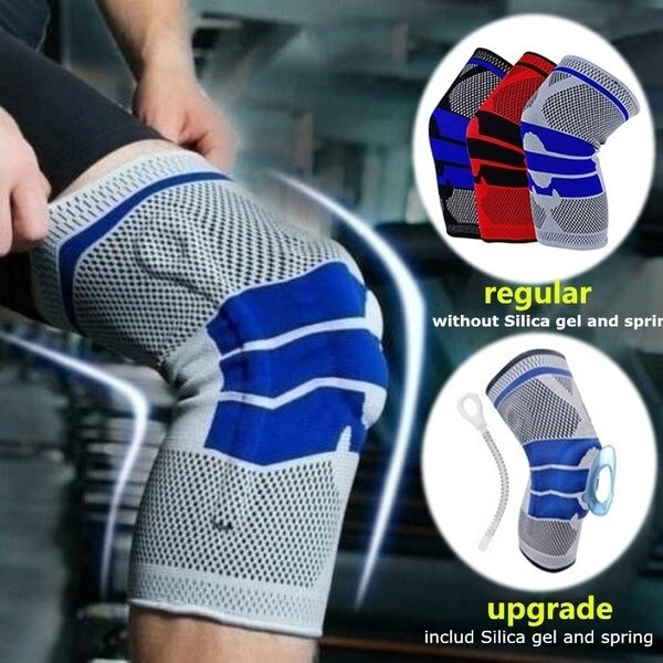 1pc New Elastic Knee Support Bracket Kneepad Adjustable Patella Knee Pad Football Basketball Safety Shoulder Strap Protective Tape
