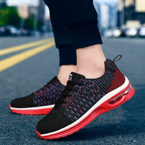 New Fashion For Men / Women Air Cushion Sneakers Lightweight Sports Shoes Tennis Sneakers Outdoor Breathable Mesh Running Shoes Casual Walking Shoes