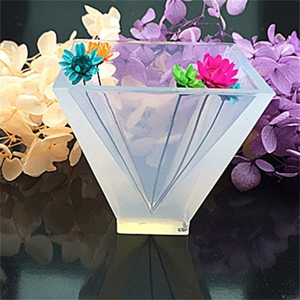 4 size Transparent Pyramid Silicone Mould DIY Resin Decorative Craft Jewelry Making Mold resin molds for jewelry 1PC