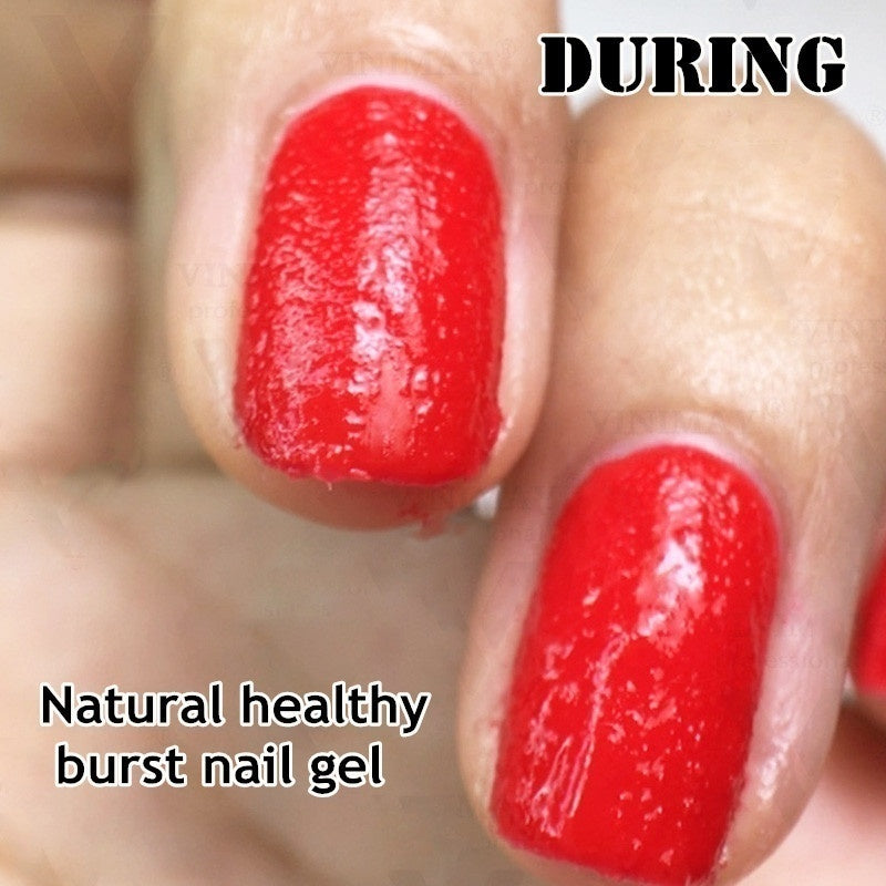 1 Bottle Newly BEAUTY Healthy Burst Gel Magic Remover Nail Degreaser Cleaner Burst Remover Nail Care Fast Within 2 MINS 8ml