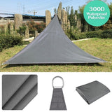300D Sun Shade Sail Outdoor Garden 300D Canopy Patio Cover Windshield Protect