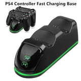 New! Dual Controller Fast Charger Charging Dock Station Stand Dualshock Gamepad Holder Base for PS4 Controller