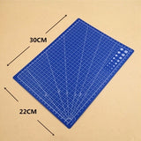 DIY A4 Double-sided Self-healing Cutting Pad  Grid Lines Cutting Board Mat