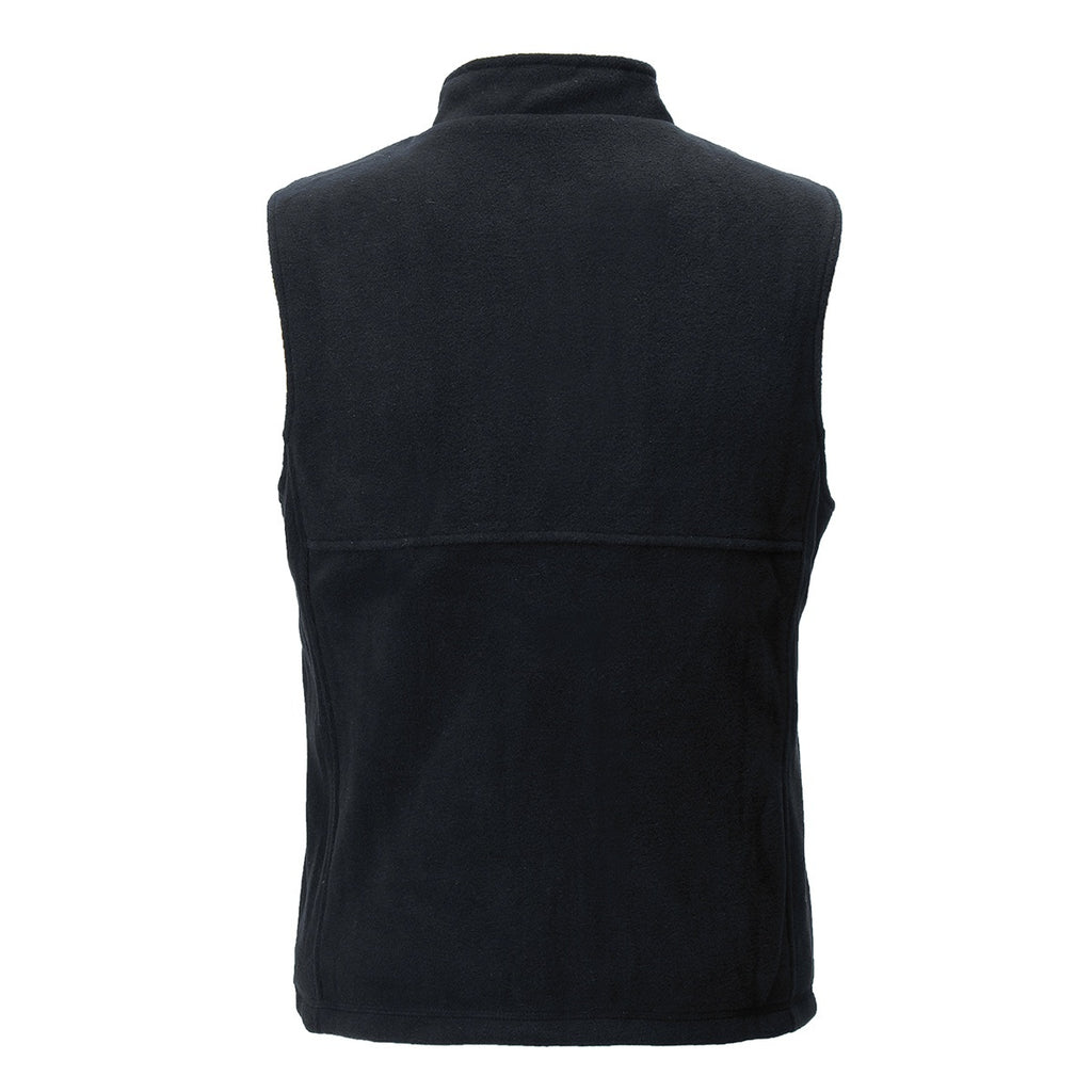 Electric Heated Vest Unisex 3-gear Temperature Adjustable, USB Charging Carbon Fiber High Collar Zipper Sleeveless Jacket Washable  Winter Warm (Size:M-3XL )