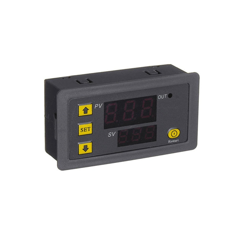W3230 DC 12V 24V AC110V-220V Digital Temperature Controller LED Display Thermostat With Heating Cooling Control Sensor