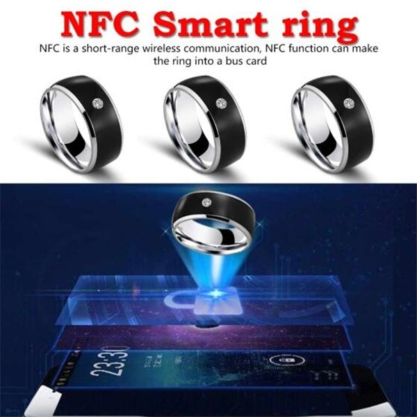 1PC NFC Mobile Phone Waterproof Smart Ring Smart Ring Wear Magic Finger NFC Ring IC ID Card for Android Windows