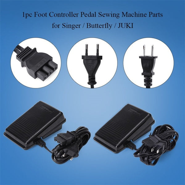 Universal Home Sewing Machine Foot Switch Pedal Variable Speed Controller for Singer